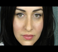 Megan Fox Inspired Natural Makeup Tutorial and EOS Lip Balm Review