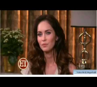MEGAN FOX PREGNANCY QUESTION ANSWERED WALKS OFF INTERVIEW ET