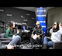 Megan Fox talks about her favorite hip hop artists on #SwayInTheMorning