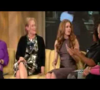 Meryl streep and amy adams on the view (1 of 2)