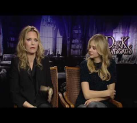 Michelle Pfeiffer And Chloe Grace Moretz Interview -- Dark Shadows