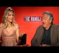 Michelle Pfeiffer and Robert De Niro Talk Finally Collaborating on The Family | POPSUGAR Interview
