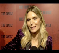 Michelle Pfeiffer at The Family Premiere