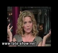 Michelle Pfeiffer on David Letterman { 6/16/2009 } Part 1