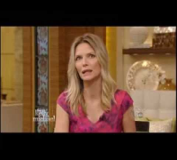 "Michelle Pfeiffer on ""Kelly and Michael"""