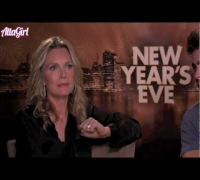 Michelle Pfeiffer & Zac Efron talk New Year's Eve