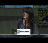 Michelle Rodriguez at The San Diego Comic Con 2010 for Battle: Los Angeles
