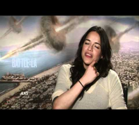 MICHELLE RODRIGUEZ BATTLE: LOS ANGELES INTERVIEW