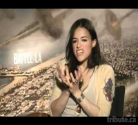 Michelle Rodriguez -- Battle: Los Angeles Interview