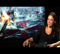 Michelle Rodriguez: Entrevista en Español - Resident Evil 5: Retribution/Venganza