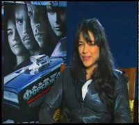 Michelle Rodriguez Interview Fast & Furious 4; Moscow