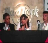 Michelle Rodriguez Interview Tropico de Sangre - 3 July 2009 - Hard Rock Café