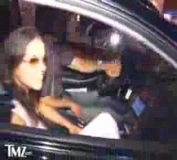 Michelle Rodriguez Leaving A Club