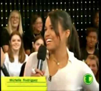 Michelle Rodriguez on TRL - Total Request Live