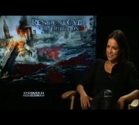 Michelle Rodríguez regresa a la pantalla grande en la película Resident Evil Retribution