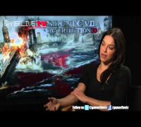 Michelle Rodriguez Talks Resident Evil Retribution, Is a Hard Core Gamer