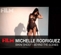 Michelle Rodriguez Total Film photoshoot