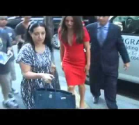 Mila arriving to the TODAY show in NYC