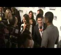 Mila Kunis and Ian Somerhalder at Cosmopolitan Party