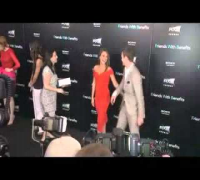 Mila Kunis and Justin Timberlake at the 'Friends with Benefits' premiere