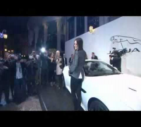 Mila Kunis at Jaguar Land Rover Show