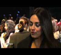 Mila Kunis at Oz The Great and Powerful premiere in London