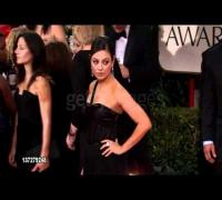 Mila Kunis at the 69th Annual Golden Globe Awards
