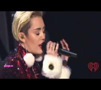 Miley Cyrus - Adore You - Jingle Ball Madison Square Garden (HD)