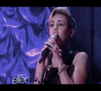 Miley Cyrus - Best Vocals of 2013 (LIVE)