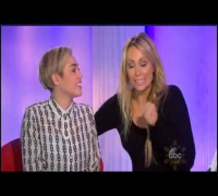 Miley Cyrus interview with Barbara Walters for 'Most Fascinating People' for 2013