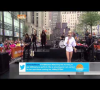 Miley Cyrus live Wrecking Ball on Today Show