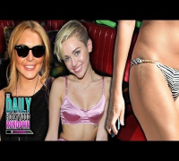 Miley Cyrus Parties with Lindsay Lohan! Selena's New Tattoo! Jonas Brothers Break-Up!