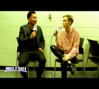 Miley Cyrus - Power 96.1's Jingle Ball 2013 -  interview