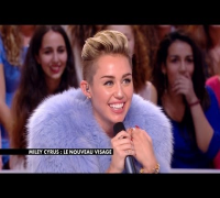 Miley Cyrus - 'We Can't Stop' performance & interview on Le Grand Journal (9th September)