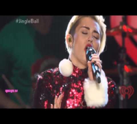 Miley Cyrus - Wrecking Ball - Jingle Ball Madison Square Garden (HD)