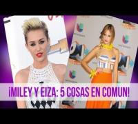 Miley Cyrus y Eiza Gonzalez 5 Sorprendentes Similitudes!