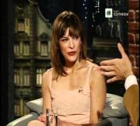 Milla Jovovich bei Harald Schmidt Show - 19.03.2002