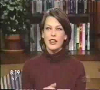 Milla Jovovich - entrevista(joan of arc) 1999