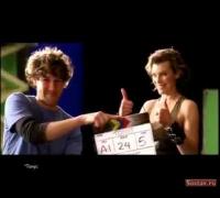 Milla Jovovich in Tonus Juice Commercial
