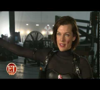 Milla Jovovich interview about filming in Resident Evil: Retribution (HD)