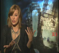 Milla Jovovich Interview for RESIDENT EVIL: AFTERLIFE