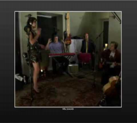 Milla Jovovich Live Twitterbration Concert on Vokle.com Part 1