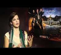 Milla Jovovich On The Three Musketeers