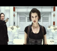 Milla Jovovich - Resident Evil 4 - Music Video - Blur HD***