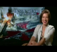 Milla Jovovich, Resident Evil: Retribuição - Repórter Hollywood (Exclusivo) Interview
