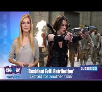 Milla Jovovich Shares 'Resident Evil: Retribution' Info