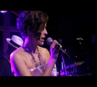 Milla Jovovich singing - Chanel News, Moscow, Russia