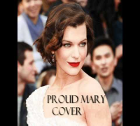 Milla Jovovich singing Proud Mary