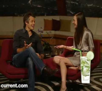 Milla Jovovich & Timothy Olyphant Taking Over Current TV PART 1/2