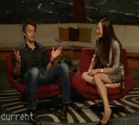 Milla Jovovich & Timothy Olyphant Taking Over CurrentTV PART 2/2